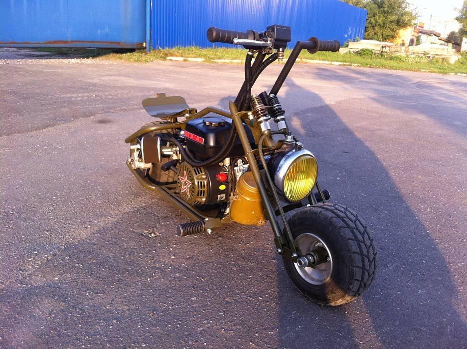 Самодельные скутера своими руками 68