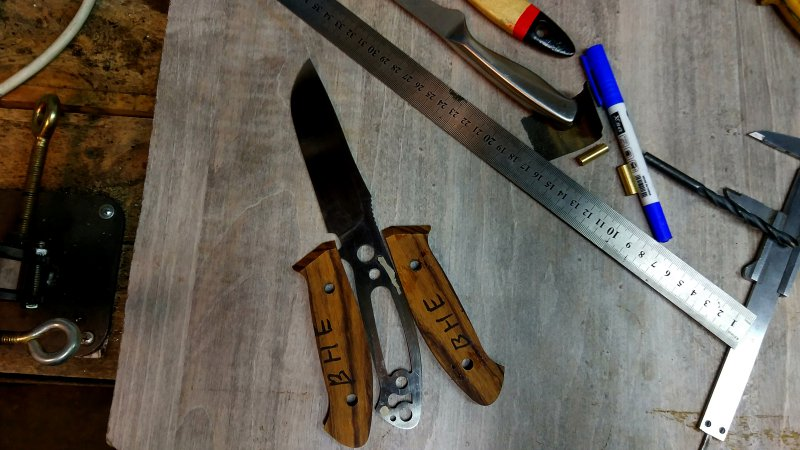 Нож простой своими руками 63