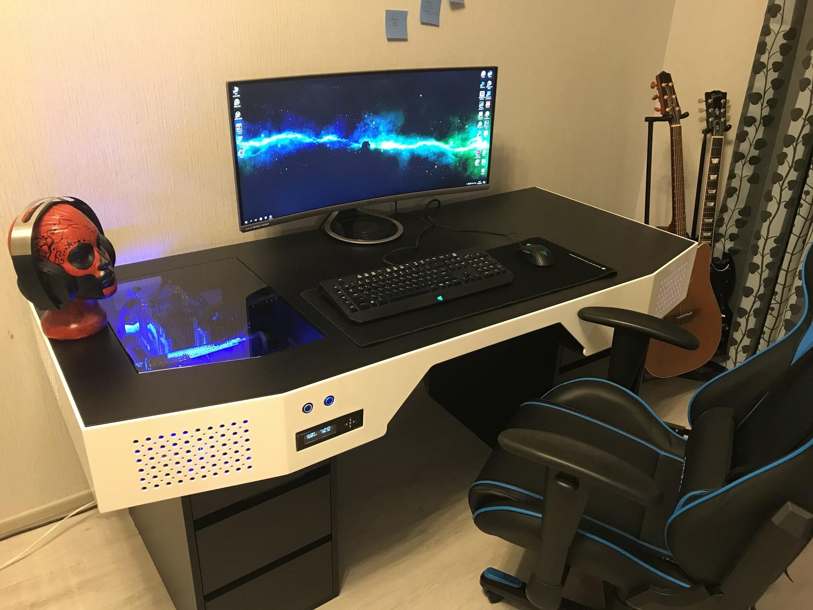 Компьютеры столы своими руками 124