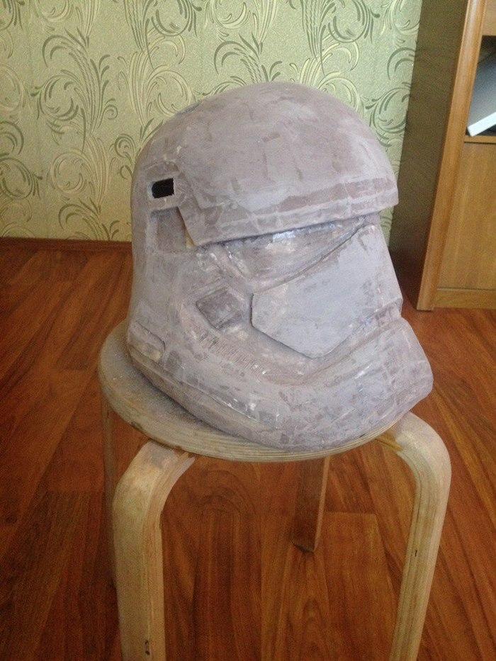 Как сделать для шлема штурмовика 483