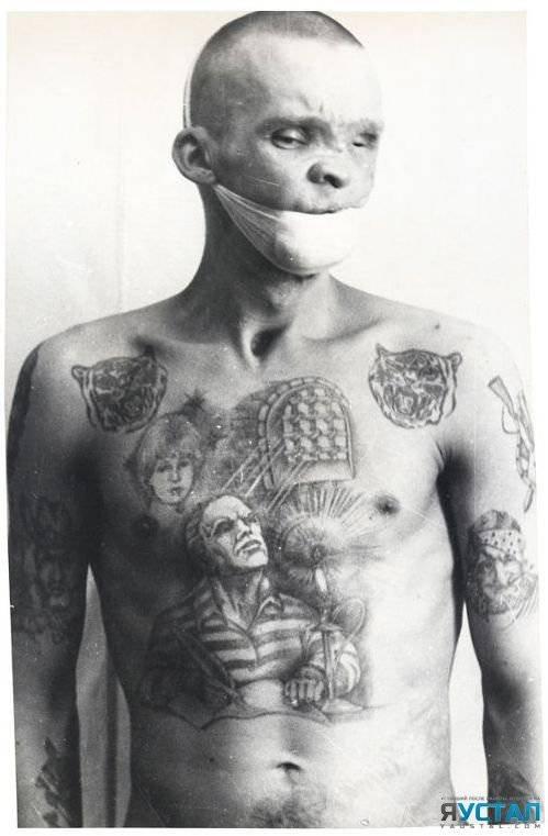 приготовить тюремные татуировки на лице значение разработку лесосеки главного