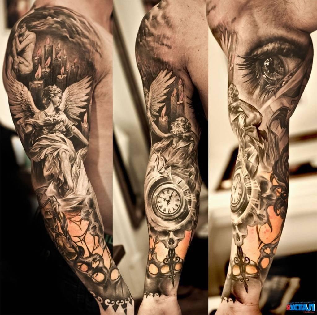Мужские татуировки рукава