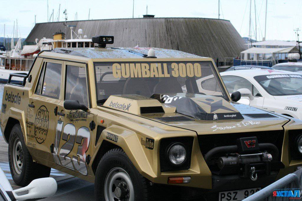 Ралли Gumball 3000 2015