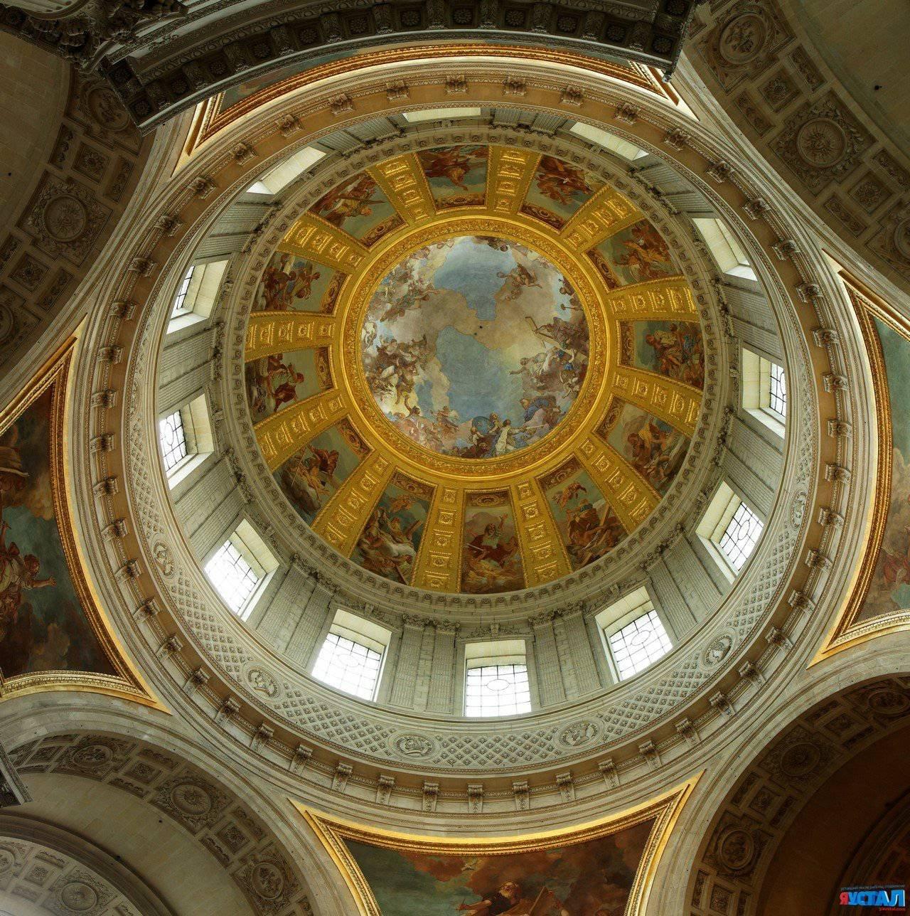 Обои Государственный Дом Инвалидов, купол, Инвалиды. Города foto 19