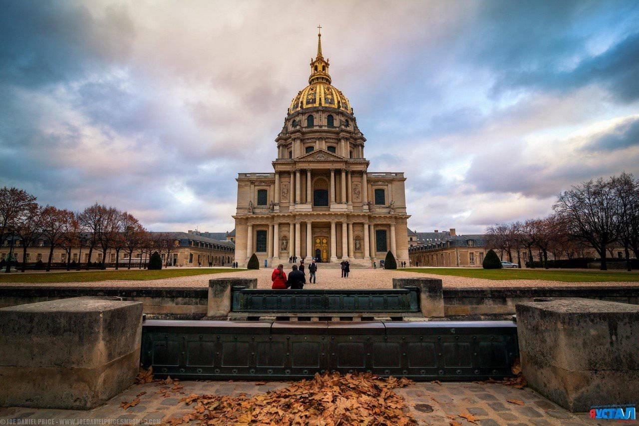 Обои Государственный Дом Инвалидов, купол, Инвалиды. Города foto 9