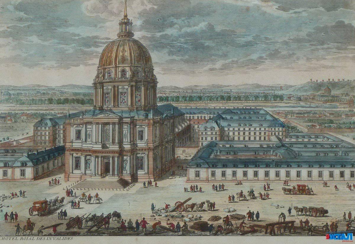 Обои Государственный Дом Инвалидов, купол, Инвалиды. Города foto 17