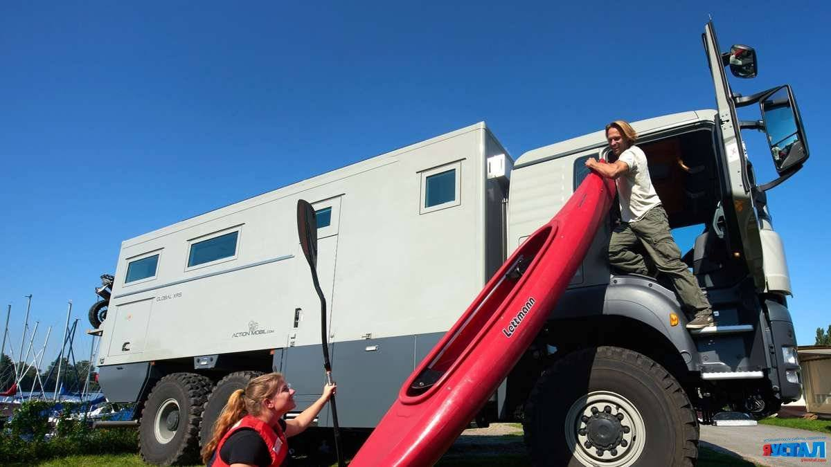 Дом на колёсах, Action Mobil's Global XRS 7200