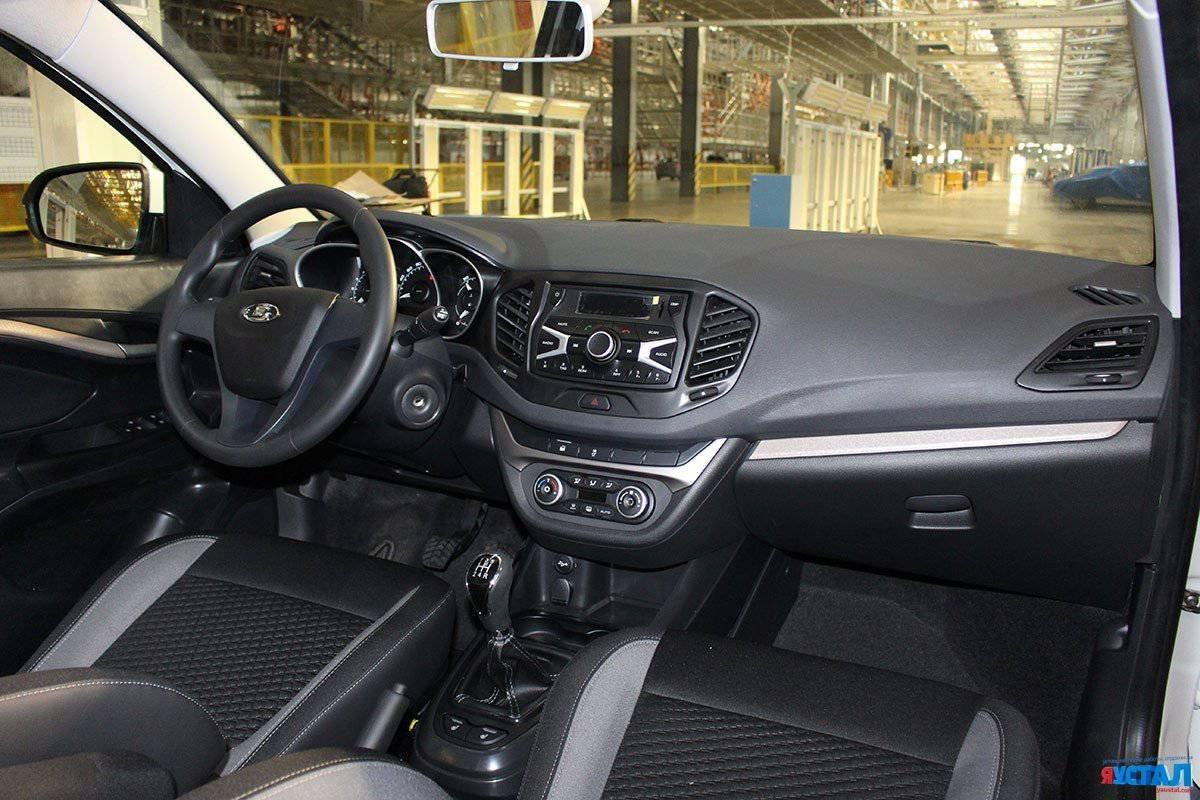 Салон Lada Vesta: эксклюзивное фото серийной модели