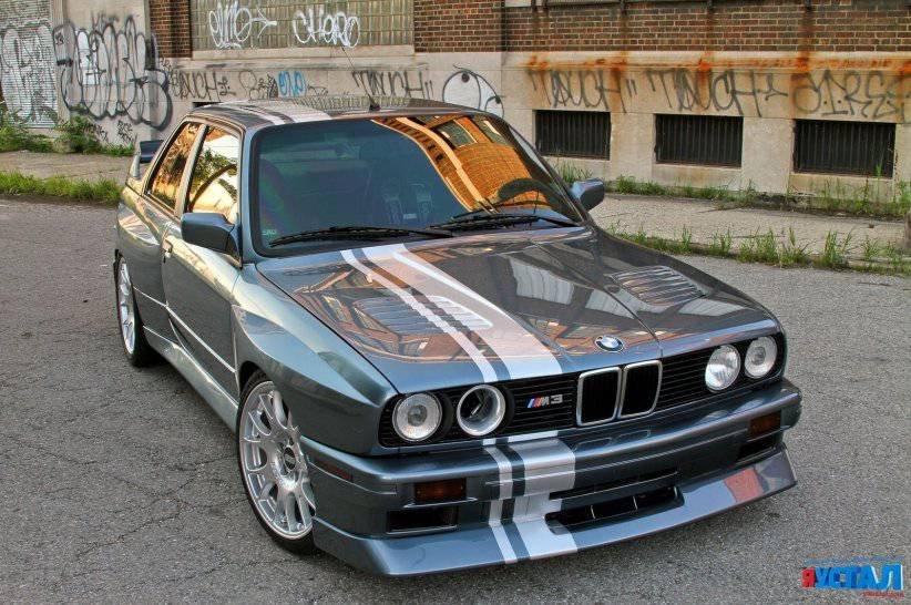 BMW M3 с двигателем V8