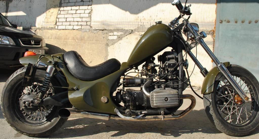 Тюнинг мотоцикла,  Кастом