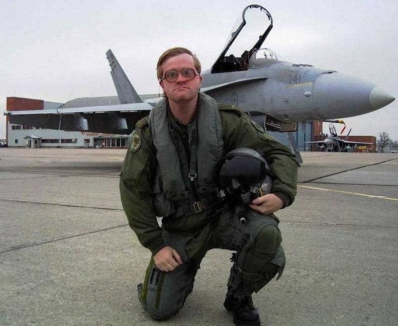 Смешная картинка летчика