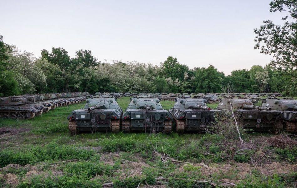 Кладбище танков в Европе