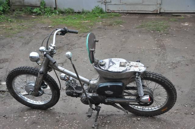 1442640987 kastom moped honda super cub 13