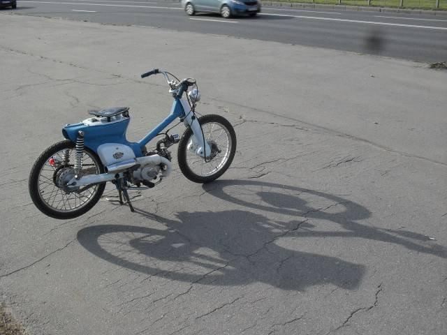 1442640995 kastom moped honda super cub 22