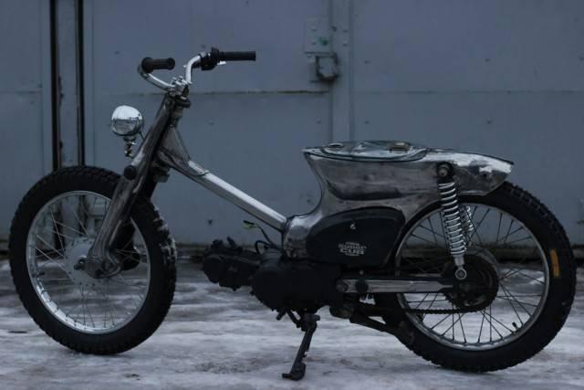 1442641017 kastom moped honda super cub 5