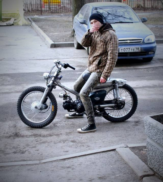 1442641018 kastom moped honda super cub 6