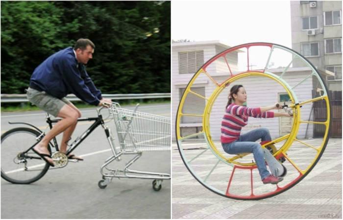Забавные и оригинальные транспортные средства