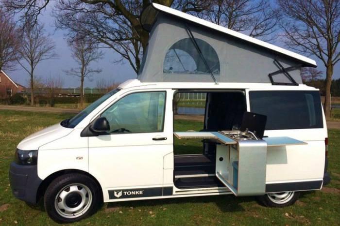 Для путешествий с комфортом: Новый серийный автодом VW Transporter