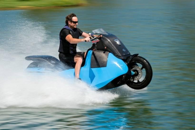 Высокоскоростные амфибии мотоциклы