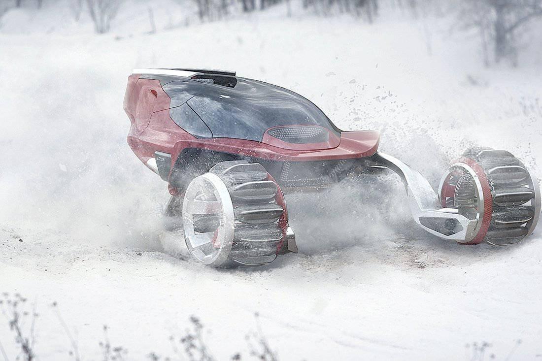 Concepto de motonieve de alta velocidad RDSV