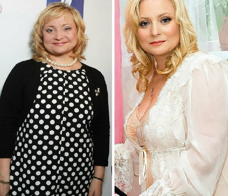 Фото Русских Знаменитостей До И После Похудения.