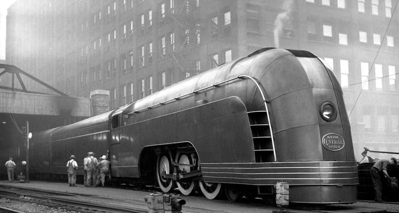 Вчерашний поезд завтрашнего дня,  Mercury New York Central Railroad
