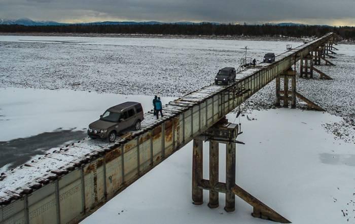 Куандинский мост - самая опасная переправа в России