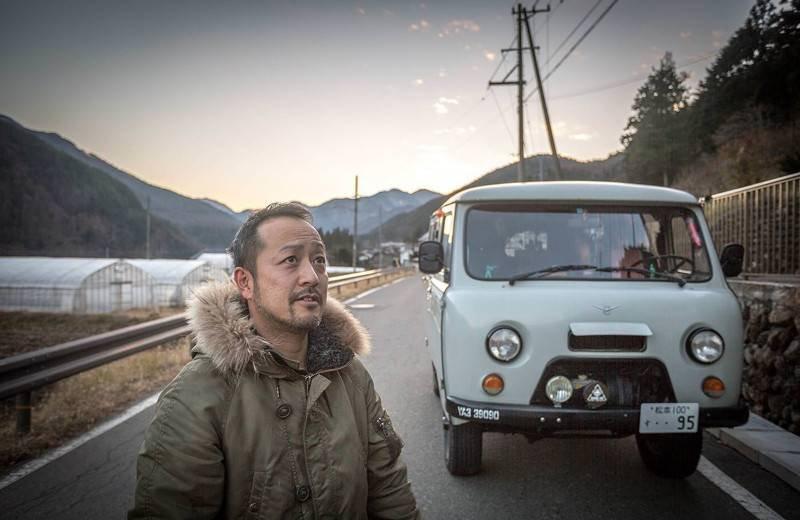 Японец и его любимый УАЗ