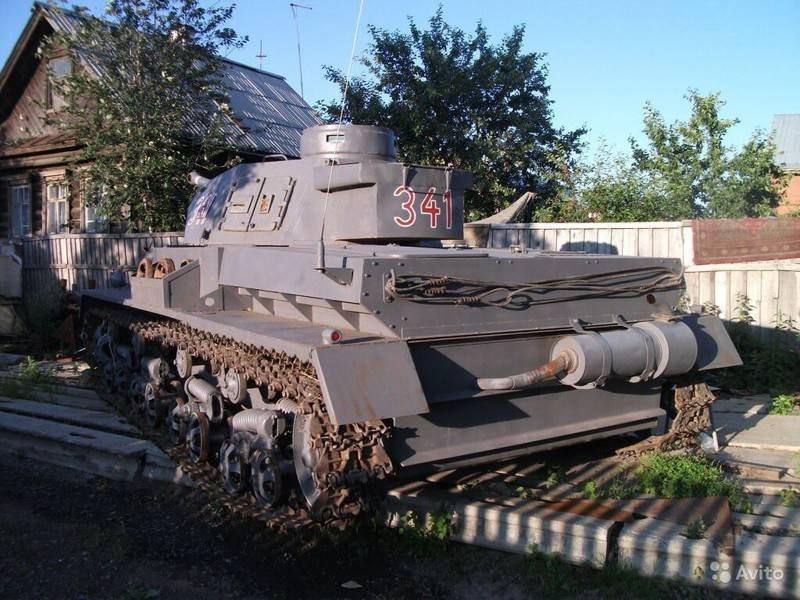 Как в России продавали немецкий танк Pz. IV