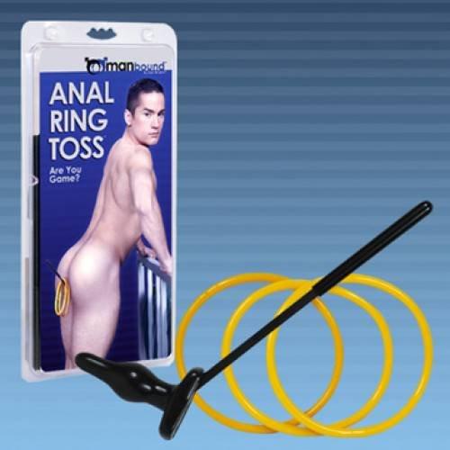 Anal ring toss tube