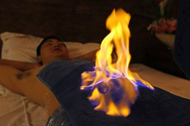 Огненный массаж москва