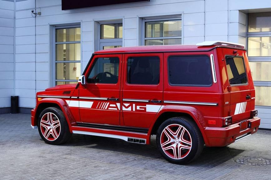 Mercedes G63 (Гелендваген) для московкого олигарха