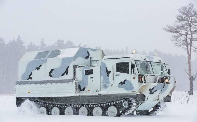Гусеничный вездеход ЧЕТРА ТМ140 «Арктика»