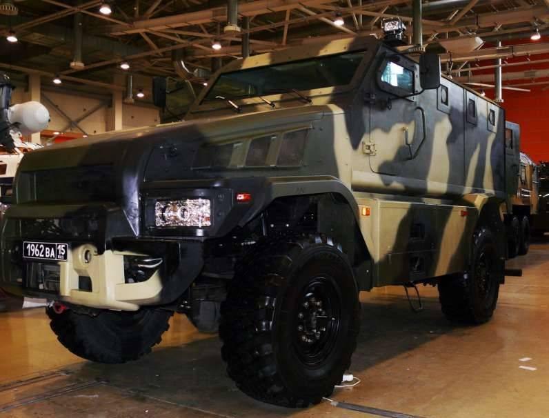 Бронеавтомобили программы «Патруль», защищенный транспорт для МВД