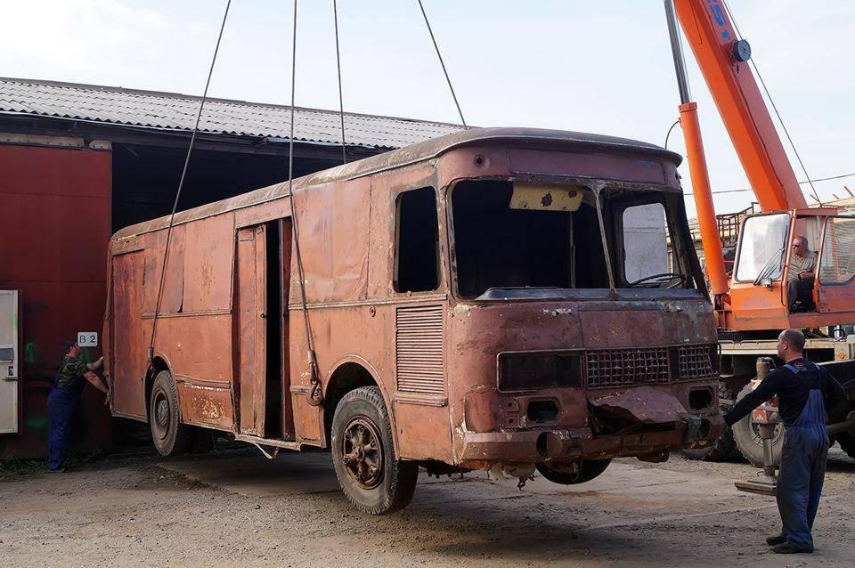 """История одного автобуса – КАвЗ 3100 """"Сибирь"""""""
