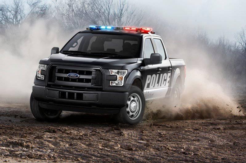 Новый полицейский пикап Ford F-150