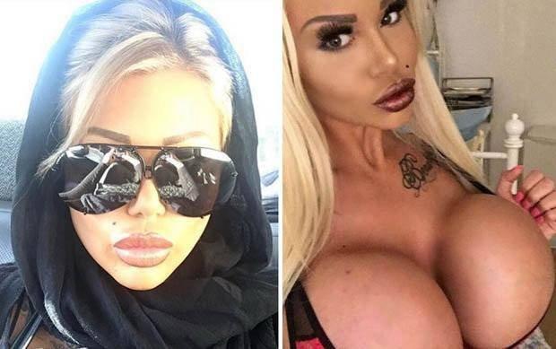 Британская порноактриса разозлила мусульман