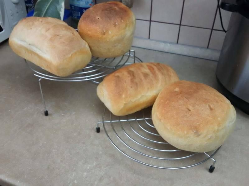 Пшеничный хлеб своими руками.