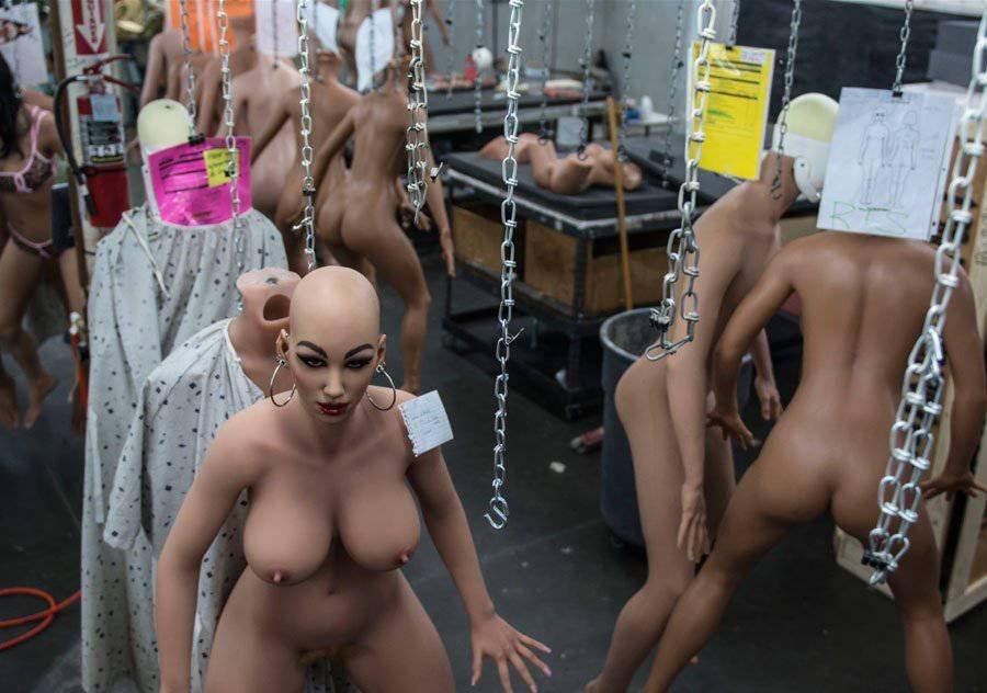 Робот секса фото