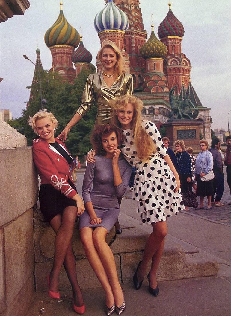 Русских 20 нам девчонок фото х лет 90 а