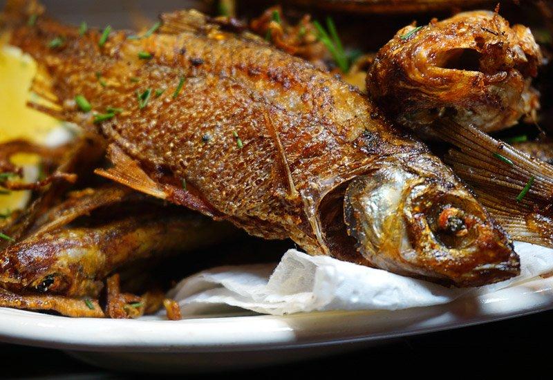 как пожарить мелкую рыбу