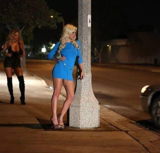 на дороге праститутки
