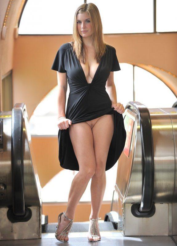 Девушка в коротком обтягивающем платье в порно — photo 9