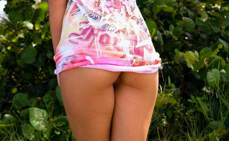 Фото что под юбкой у девушек