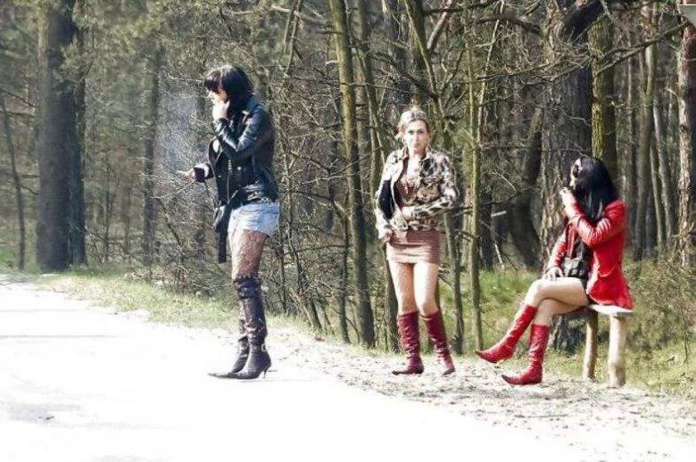 Фото трасовых проституток