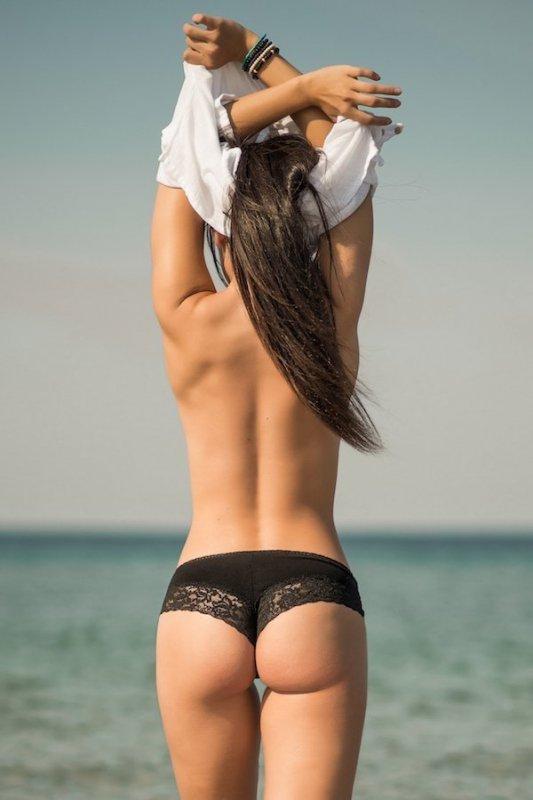 красивые картинки и фото девушек вид сзади - 9