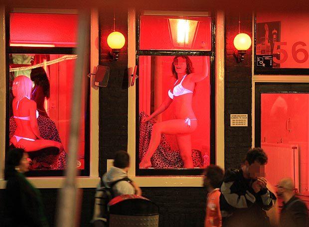 фото проституток квартала красных в амстердаме