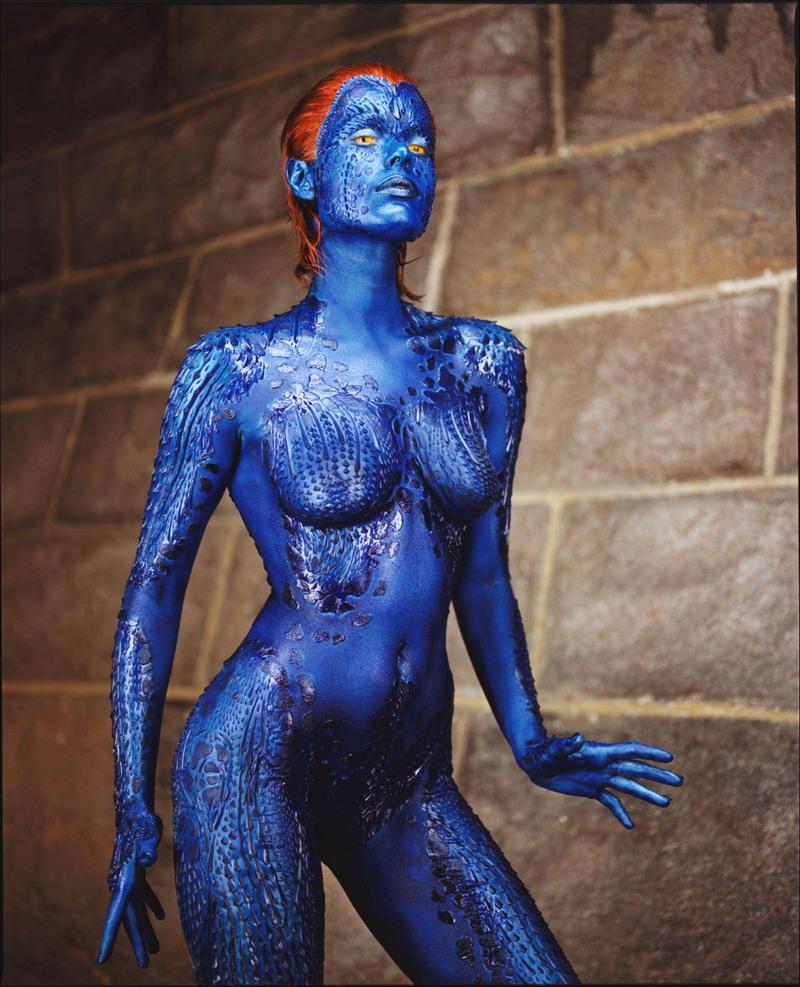 X men nude body paint — 15