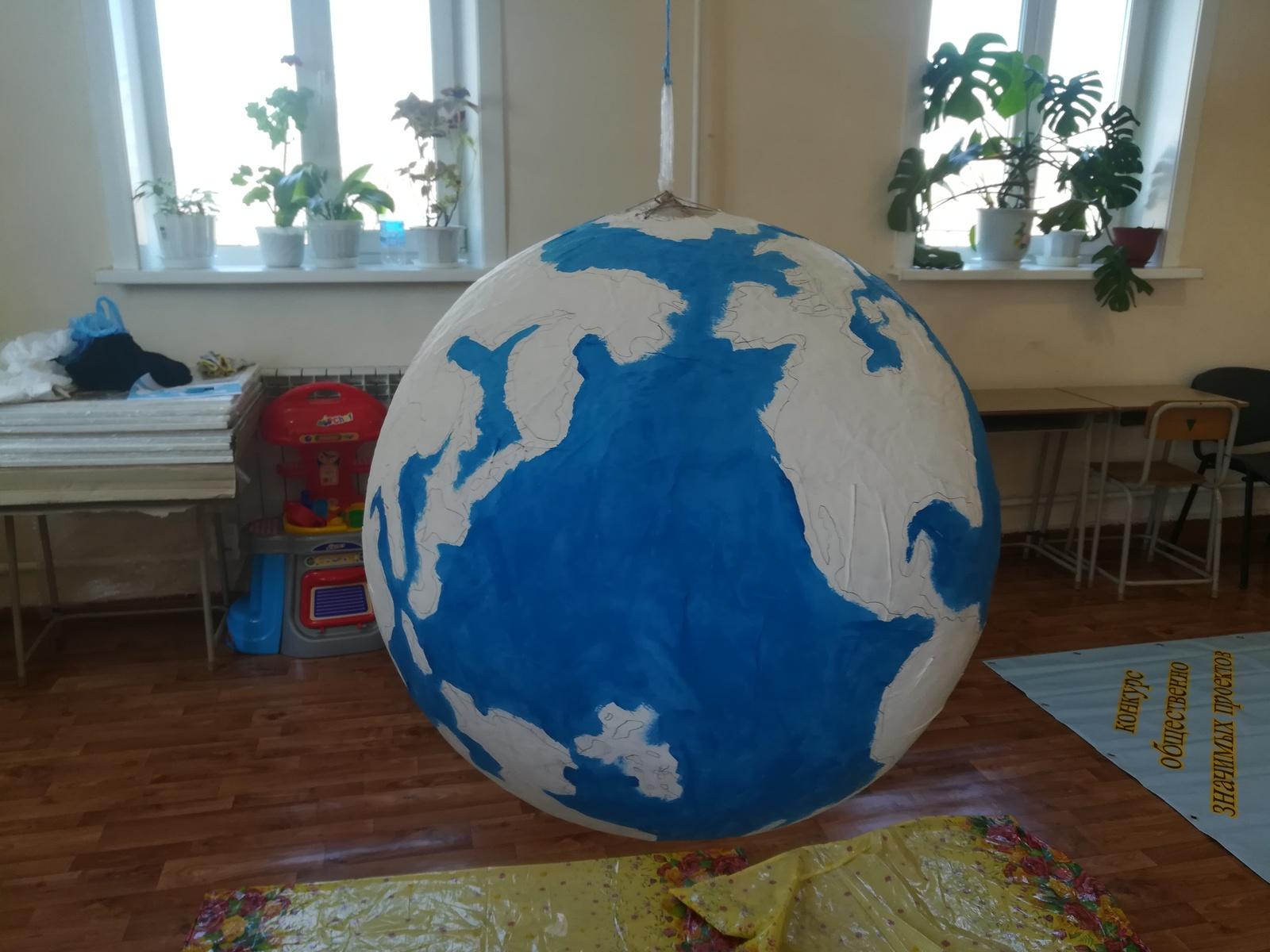 глобус из пластилина своими руками фото многочисленным вопросам просьбам