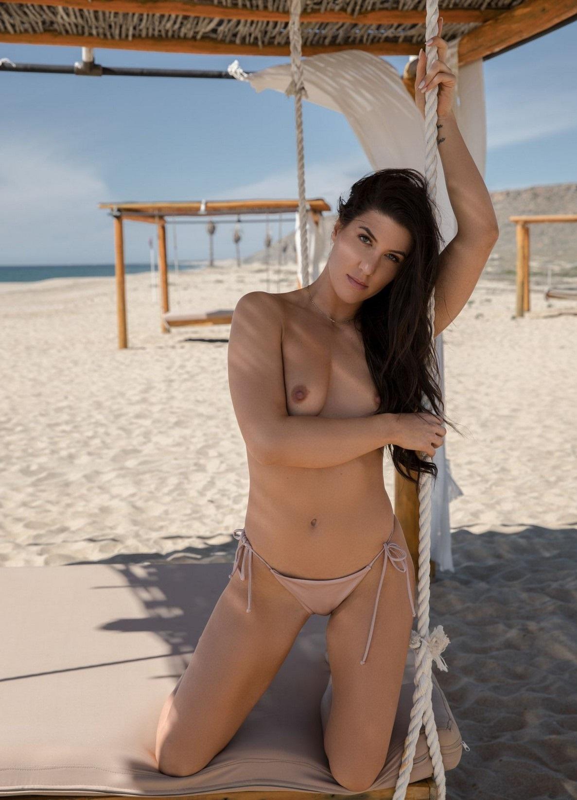 Beach of carmen nudes lip